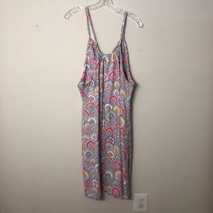 J. McLaughlin Paisley Halter Dress, Size M